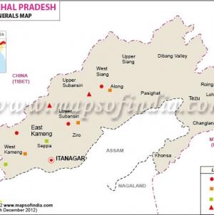 Arunachal Pradesh Minerals