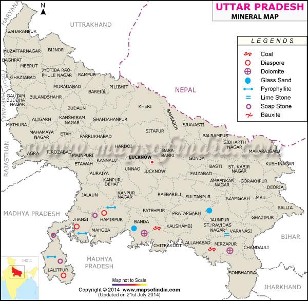 Uttar Pradesh Minerals Bharat Mera Garv