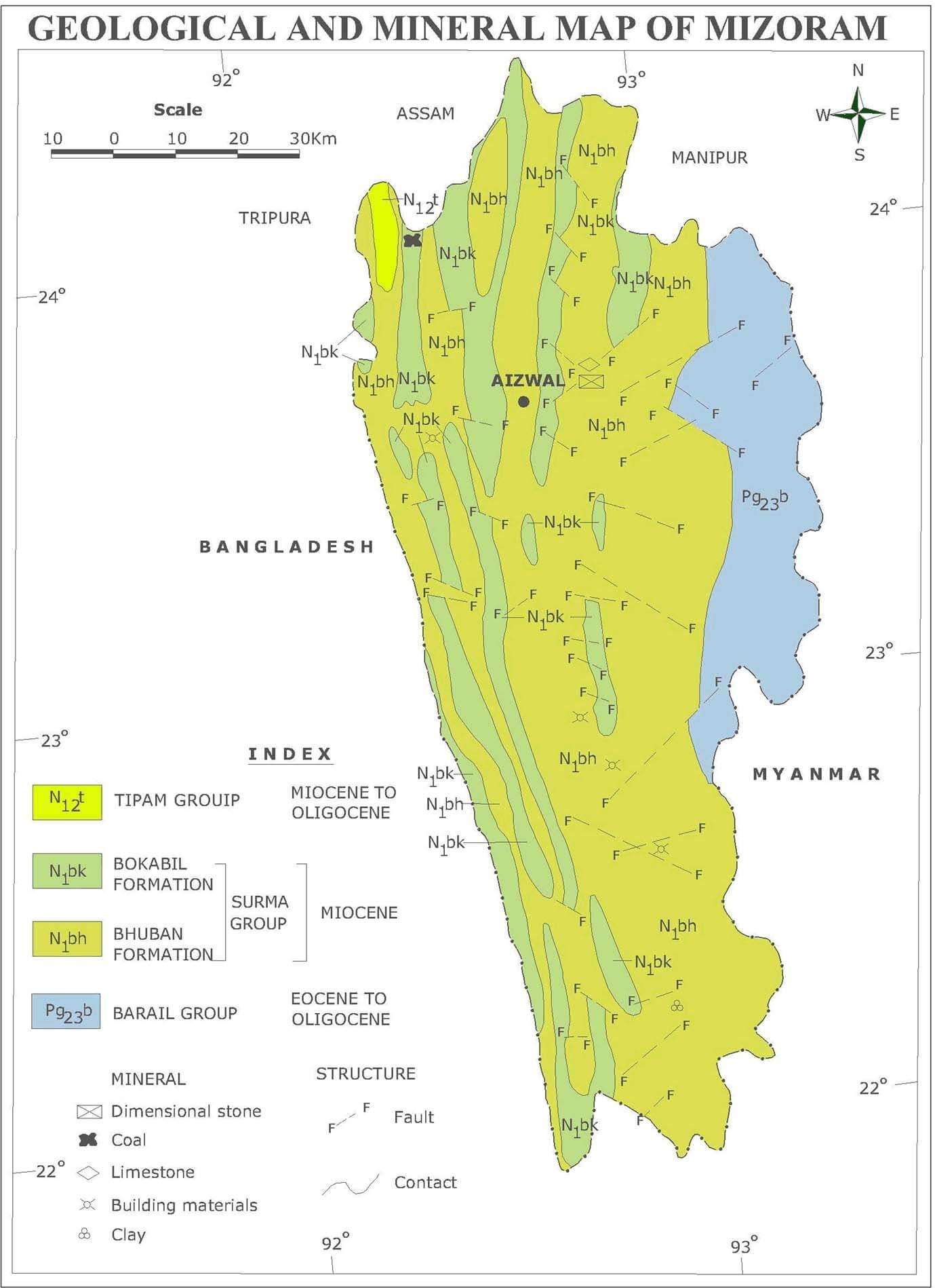 Mizoram Minerals | Bharat Mera Garv